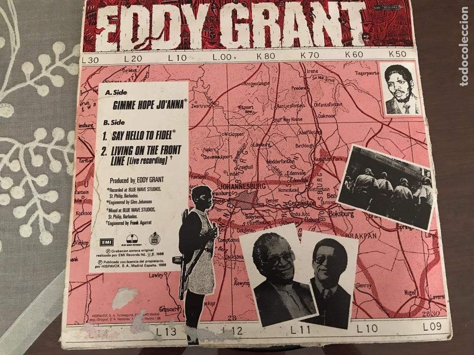 Discos de vinilo: Eddy Grant GIMME HOPE JO ANNA MAXI SINGLE - Foto 2 - 244562715