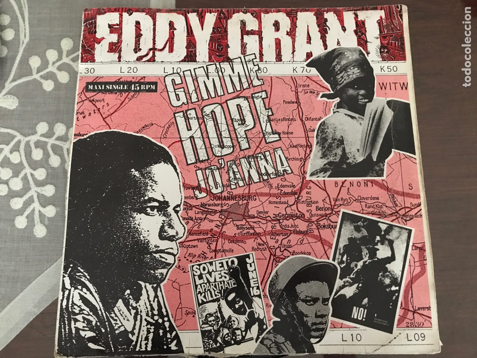 EDDY GRANT GIMME HOPE JO ANNA MAXI SINGLE (Música - Discos de Vinilo - Maxi Singles - Reggae - Ska)