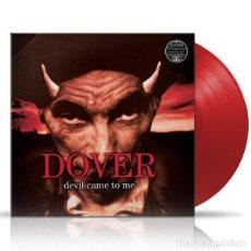 Discos de vinilo: LP DOVER DEVIL COME TO ME VINILO ROJO EDICION 2021. Lote 244563185