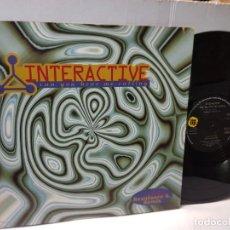 Discos de vinilo: MAXI SINGLE-INTERACTIVE-CAN YOU HEAR ME CALLING- EN FUNDA ORIGINAL 1994. Lote 244566420