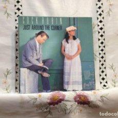 Discos de vinilo: COCK ROBIN - JUST AROUNT THE CORNER / 7' VINYL HOLLAND 1987. NM - NM. Lote 244568080
