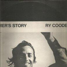 Discos de vinilo: RY COODER BOOMER STORY. Lote 244570895