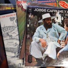 Discos de vinilo: 7 LP DE MUSICA SUDAMERICANA JARAMILLO LA BIKINA AGUILE MEJIA GODOY CAFRUNE. Lote 244571060