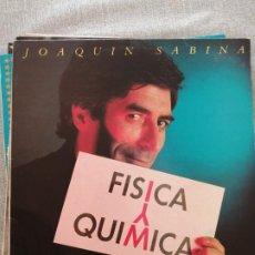 Discos de vinilo: JOAQUIN SABINA - FISICA Y QUIMICA (LP VINILO) 1992. Lote 244572720