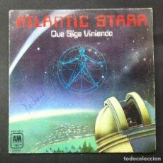 Discos de vinilo: ATLANTIC STARR - QUE SIGA VINIENDO / ESTAR ENAMORADO DE TI - SINGLE 1978 - A&M. Lote 244576530