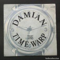 Discos de vinilo: DAMIAN - THE TIME WARP - SINGLE 1989 - JIVE. Lote 244578220