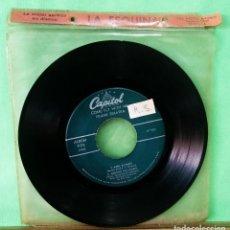 Discos de vinilo: FRANK SINATRA. AUTUMN IN NEW YORK. EP 3 CANCIONES - .LIMPIO TRATADO CON ALCOHOL ISOPROPÍLICO - AZ. Lote 244578545