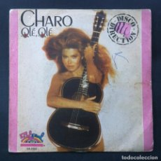 Discos de vinilo: CHARO - OLE OLE - SINGLE1979 - SALSOUL. Lote 244578610