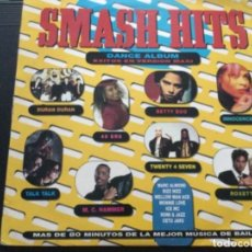 Discos de vinilo: SMASH HITS - DANCE ÁLBUM. Lote 244579310