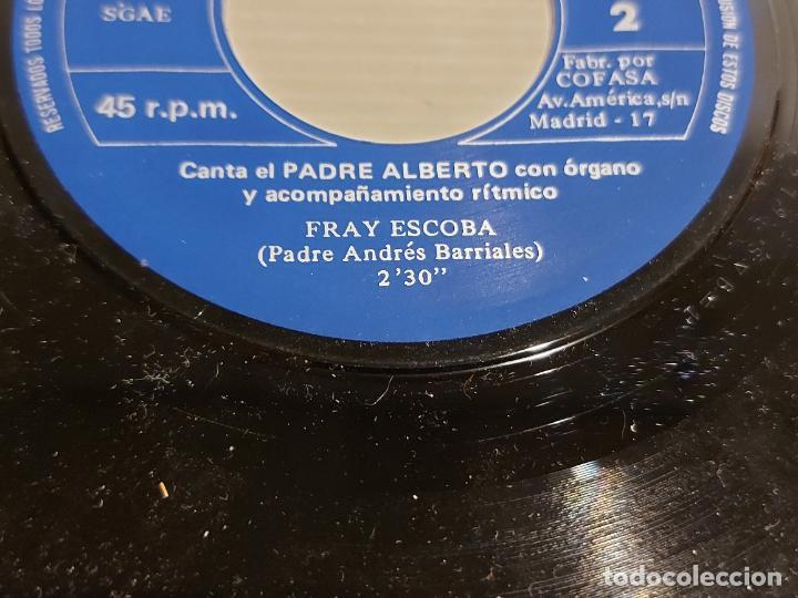 Discos de vinilo: MARÍA ALEJANDRA CON LOS GEMELOS / FRAY ESCOBA / SINGLE - BCD-1972 / MBC. ***/*** - Foto 4 - 244581300