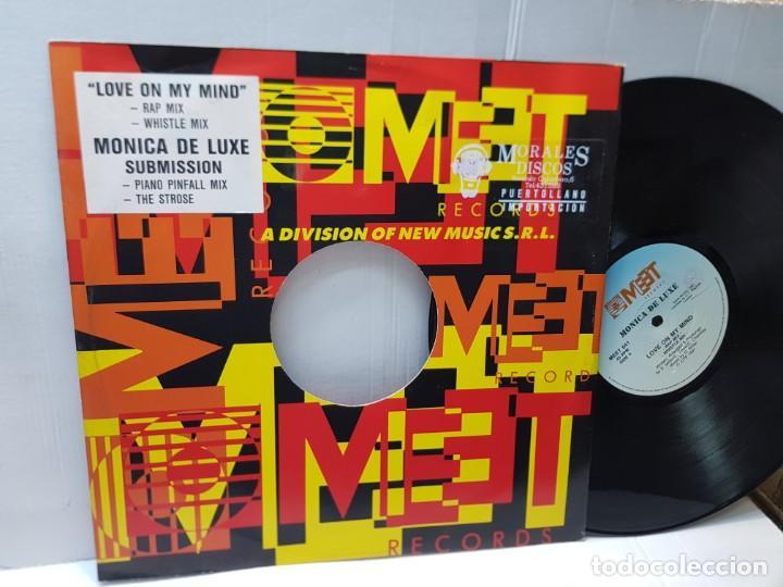 MAXI SINGLE-MONICA DE LUXE-SUBMISSION- EN FUNDA ORIGINAL 1991 (Música - Discos de Vinilo - Maxi Singles - Pop - Rock Internacional de los 90 a la actualidad)