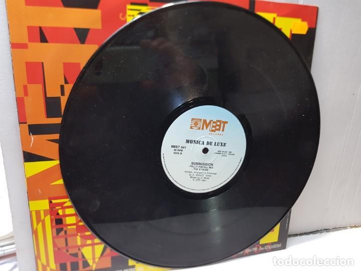 Discos de vinilo: MAXI SINGLE-MONICA DE LUXE-SUBMISSION- en funda original 1991 - Foto 4 - 244581350