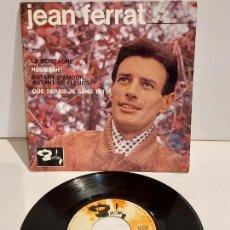 Discos de vinilo: JEAN FERRAT / LA MONTAGNE / EP - BARCLAY-1964 / MBC. ***/***. Lote 244582470