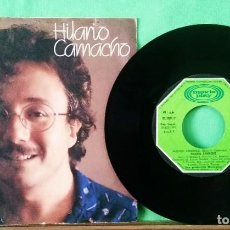 Discos de vinilo: HILARIO CAMACHO.MADRID AMANECE..LIMPIO,TRATADO CON ALCOHOL ISOPROPÍLICO - AZ. Lote 244582725