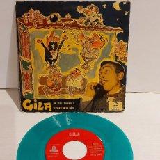 Discos de vinilo: GILA / UN PISO TRANQUILO / EP - ODEON-1958 / MBC. ***/***. Lote 244583620