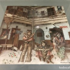 Discos de vinilo: LP VINILO TRIANA - EL PATIO 1975 - PRIMERA EDICIÓN 17.0678/7 - GATEFOLD COVER / ROCK ANDALUZ. Lote 244584385