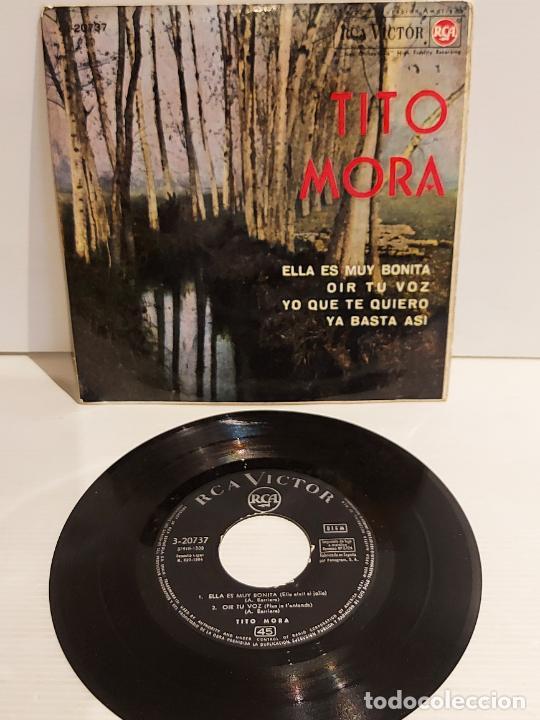 TITO MORA / ELLA ES MUY BONITA / EP - RCA-VICTOR-1964 / MBC. ***/*** (Música - Discos de Vinilo - EPs - Solistas Españoles de los 50 y 60)