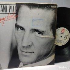 Discos de vinilo: MAXI SINGLE-ZWILLIAM PITT-FUNNY GIRL- EN FUNDA ORIGINAL 1987. Lote 244585965