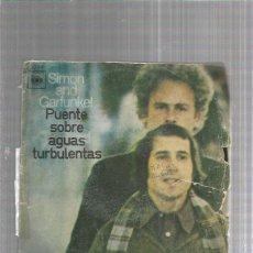 Disques de vinyle: SIMON GARFUNKEL PUENTE. Lote 244592945