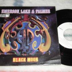 Discos de vinilo: DISCO EMERSON LAKE & PALMER - BLACK MOON (VICTORY, 1992). Lote 244598235