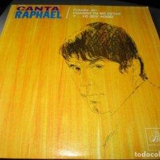 Discos de vinilo: CANTA RAPHAEL ( PUERTO RICO ) LLEVAN / A PESAR DE TODO / CADA CUAL / TU VOLVERAS / QUISIERA /. Lote 244604195