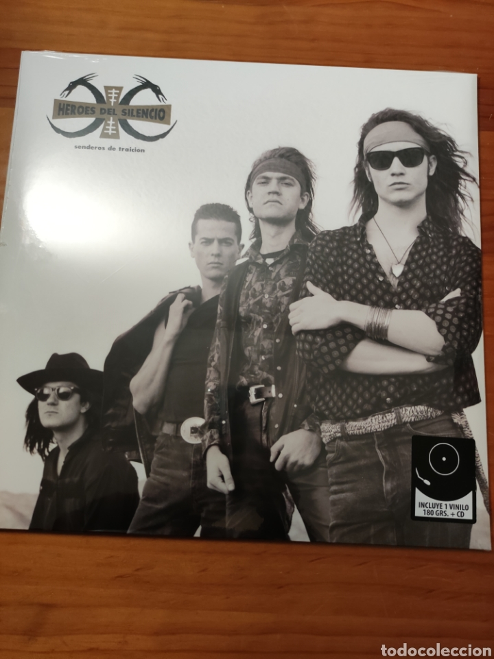 VINILO+CD HÉROES DEL SILENCIO. SENDEROS DE TRAICIÓN. PARLOPHONE 2014. NUEVO PRECINTADO (Música - Discos - LP Vinilo - Grupos Españoles de los 90 a la actualidad)
