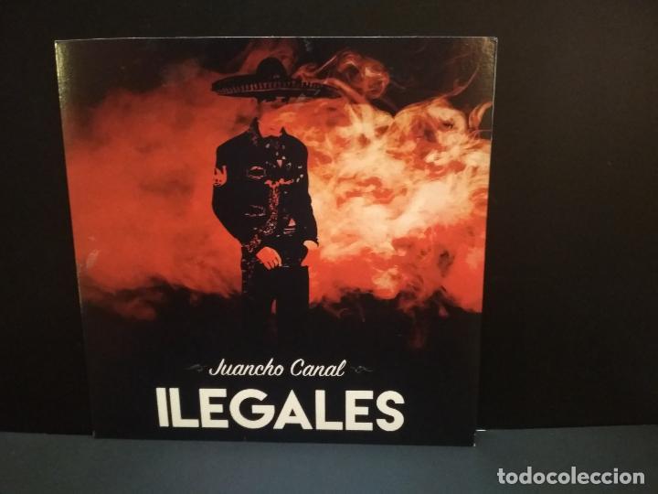 Discos de vinilo: ILEGALES REPTIL INTERIOR + JUANCHO CANAL + AYATOLAH + 1 EP 2020 PEPETO - Foto 2 - 244608805