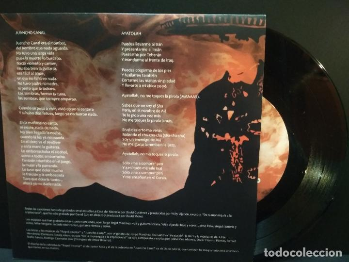 Discos de vinilo: ILEGALES REPTIL INTERIOR + JUANCHO CANAL + AYATOLAH + 1 EP 2020 PEPETO - Foto 3 - 244608805