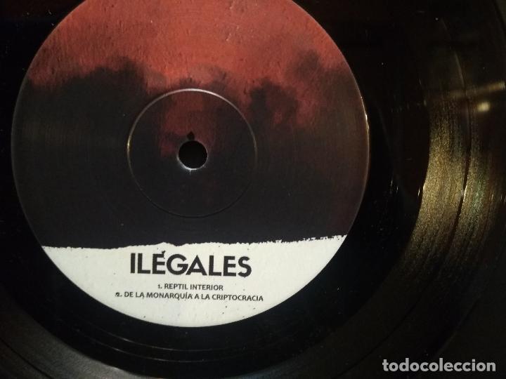 Discos de vinilo: ILEGALES REPTIL INTERIOR + JUANCHO CANAL + AYATOLAH + 1 EP 2020 PEPETO - Foto 4 - 244608805