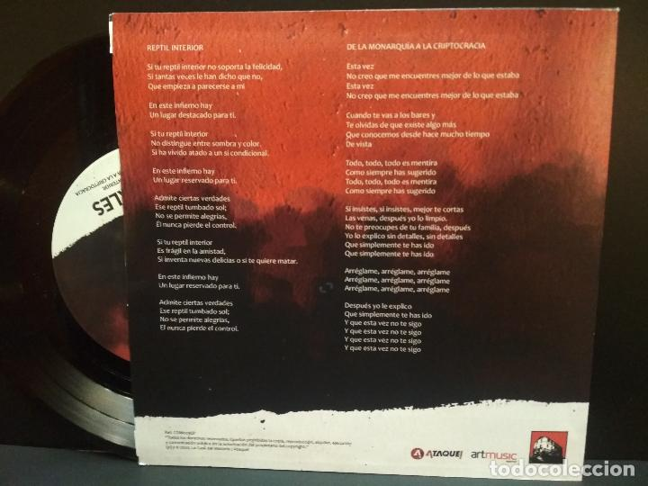 Discos de vinilo: ILEGALES REPTIL INTERIOR + JUANCHO CANAL + AYATOLAH + 1 EP 2020 PEPETO - Foto 5 - 244608805