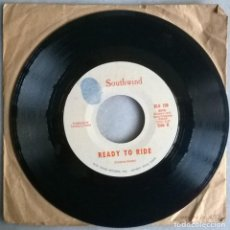 Discos de vinilo: SOUTHWIND. READY TO RIDE/ COOL GREEN HILLS OF EARTH. BLUE THUMB, USA 1970 SINGLE. Lote 244609310