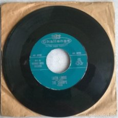 Discos de vinilo: THE CHAMPS. LIMBO DANCE/ LATIN LIMBO. CHALLENGE, USA 1962 SINGLE. Lote 244612525