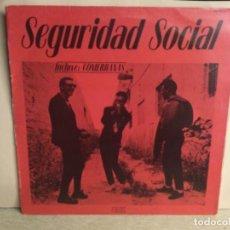 Discos de vinilo: SEGURIDAD SOCIAL - NO ES FÁCIL SER DIOS - ( COMERRANAS ) MAXI DISCO VINILO. Lote 244614885