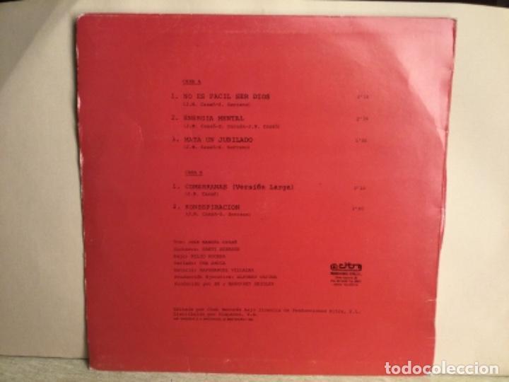 Discos de vinilo: SEGURIDAD SOCIAL - NO ES FÁCIL SER DIOS - ( Comerranas ) MAXI DISCO VINILO - Foto 2 - 244614885