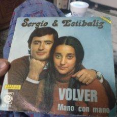 Discos de vinilo: SERGIO Y ESTÍBALIZ. Lote 244618080