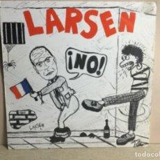 Discos de vinilo: LARSEN - ¡ NO ! 1983 MAXI - CON LA HOJA INTERIOR. Lote 244618290