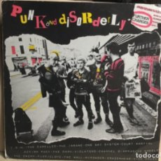 Discos de vinilo: PUNK AND DISORDERLY - FURTHER CHARGES - LP DISCO VINILO 1983. Lote 244619455