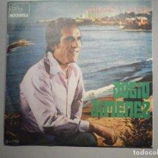 Discos de vinilo: DISCO VINILO SINGLE - JULIO JIMENEZ - VERANO Y AMOR, SOLO POR VER - TRIANGULO - S115 1N -. Lote 244629020
