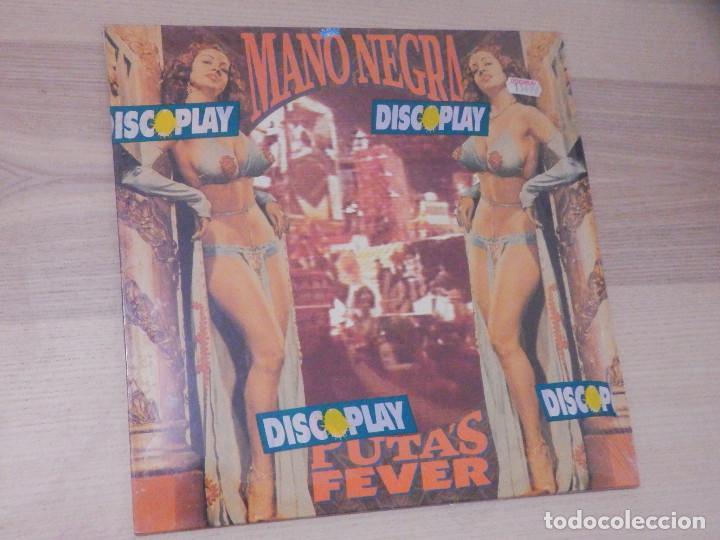 VINILO LONG PLAY - MANO NEGRA - PUTA´S FEVER - VIRGIN 1989 - IMPECABLE (Música - Discos - LP Vinilo - Heavy - Metal)
