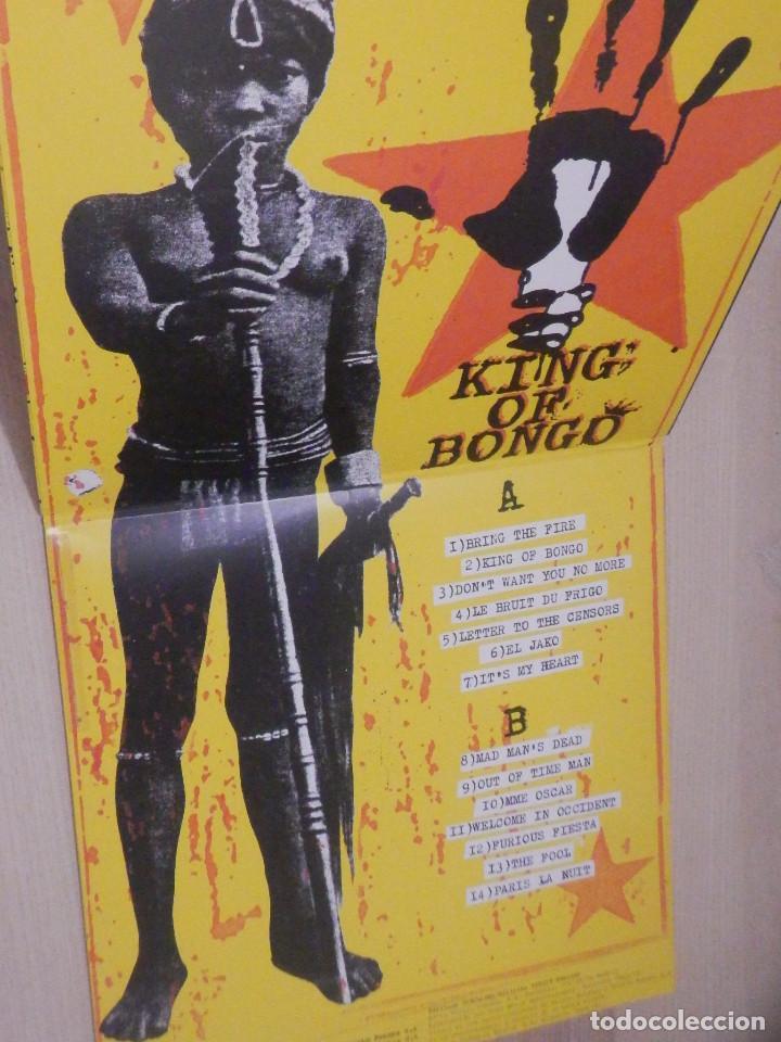 Discos de vinilo: Vinilo Long Play -L.P. - Mano Negra - King of Bongo - Virgin 1991 - Impecable - Foto 2 - 244629665