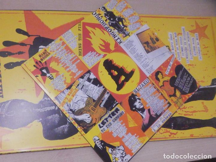 Discos de vinilo: Vinilo Long Play -L.P. - Mano Negra - King of Bongo - Virgin 1991 - Impecable - Foto 3 - 244629665
