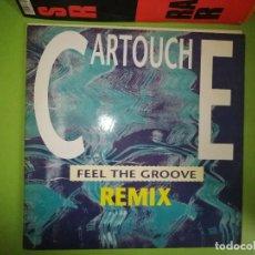 Discos de vinilo: DISCO FEEL THE GROOVE - REMIX. CARTOUCHE. Lote 244633780