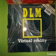 Discos de vinilo: DISCO DLM - VIRTUAL REALITY. REMIX BY D.J. DIMAS & J. MARTINEZ. DANCE OPERA. Lote 244634675