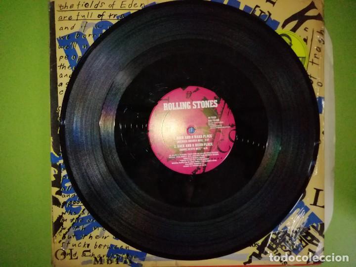 Discos de vinilo: ROLLING STONES. ROCK AND A HARD PLACE. 33 1/3 RPM. STEREO - Foto 2 - 244635010
