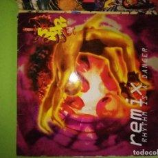Discos de vinilo: DISCO SNAP! - RHYTHM IS A DANCER - REMIX. Lote 244635080