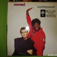 Discos de vinilo: DISCO NOMAD - SOMETHING SPECIAL. (JOEY NEGRO MIX)(RAVE MIX)(FLUTE MIX). RUMAT 35. Lote 244635275