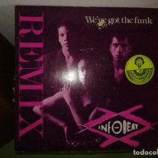 Discos de vinilo: DISCO INFO BEAT. WE'VE GOT THE FUNK. REMIX. Lote 244635715