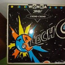Discos de vinilo: DISCO WONKA - JAMBO!. L'ECHO - L'ECHO. L'ECH. Lote 244636440