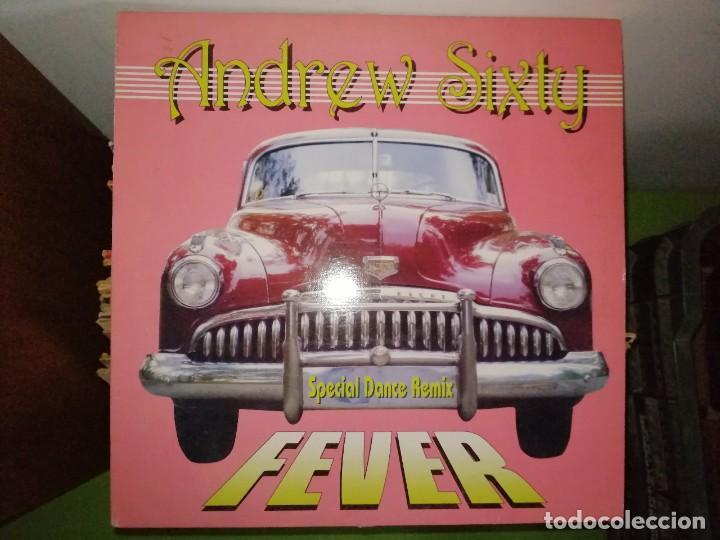 DISCO ANDREW SIXTY. SPECIAL DANCE REMIX - FEVER (Música - Discos de Vinilo - Maxi Singles - Disco y Dance)