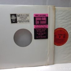 Discos de vinilo: MAXI SINGLE 33 1/3-FREEDOM WILLIAMS-GONNA MAKE YOU SWEAT- EN FUNDA ORIGINAL 1991. Lote 244637250